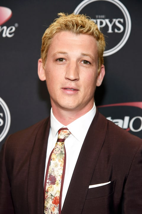 Miles Teller Debuted Blonde Hair Eyebrows At The 2016