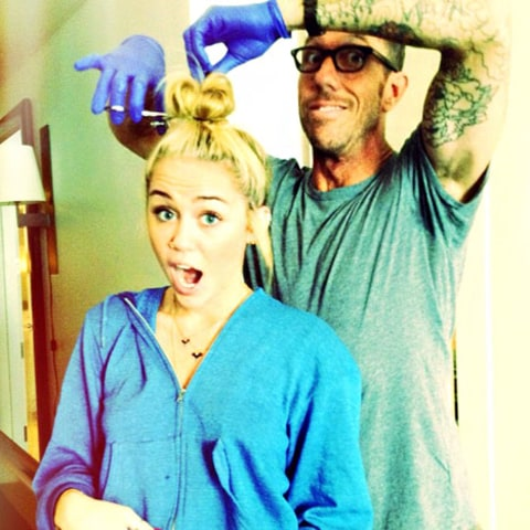 miley hair cut