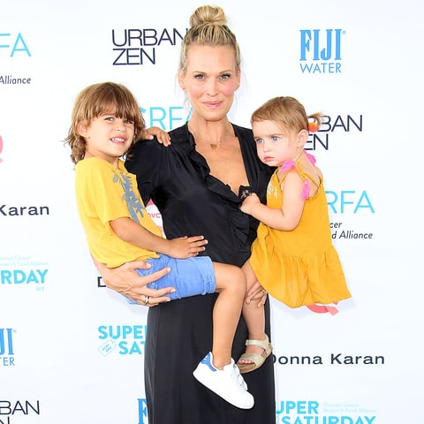 Molly Sims, Brooks and Scarlett Molly Sims