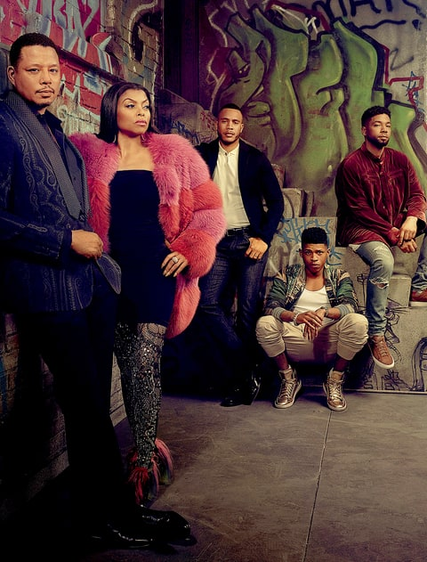 Terrence Howard, Taraji P. Henson, Trai Byers, Bryshere Gray and Jussie Smollett
