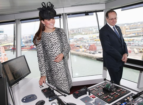 kate middleton princess cruises