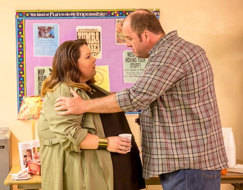 Chrissy Metz and Chris Sullivan