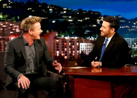 Gordon Ramsay and Jimmy Kimmel