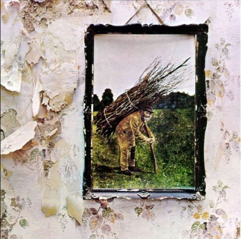 Led Zeppelin IV album cover.