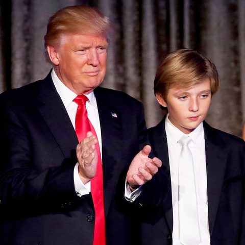 donald trumps youngest called barron