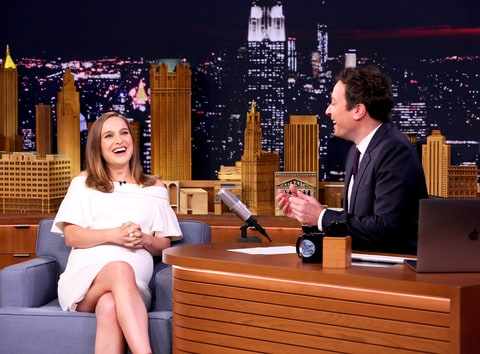 Natalie Portman and Jimmy Fallon