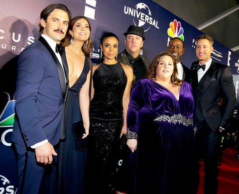 Milo Ventimiglia, Mandy Moore, Chris Sullivan, Susan Kelechi Watson, Chrissy Metz, Sterling K. Brown and Justin Hartley