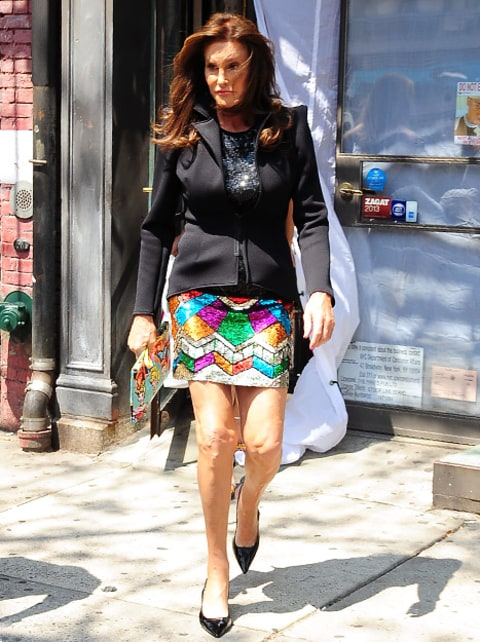 Caitlyn Jenner - Patricia Field outfit