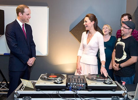 kate middleton djs