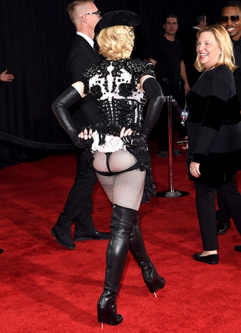 madonna butt flash