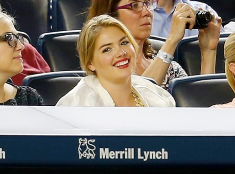 kate upton baseball game