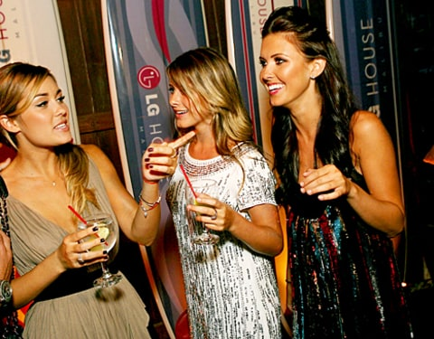 Lauren Conrad, Lauren Bosworth and Audrina Patridge