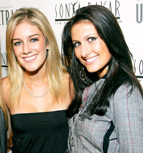 Jen Bunney and Heidi Montag