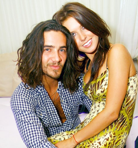 Justin Bobby and Audrina Patridge
