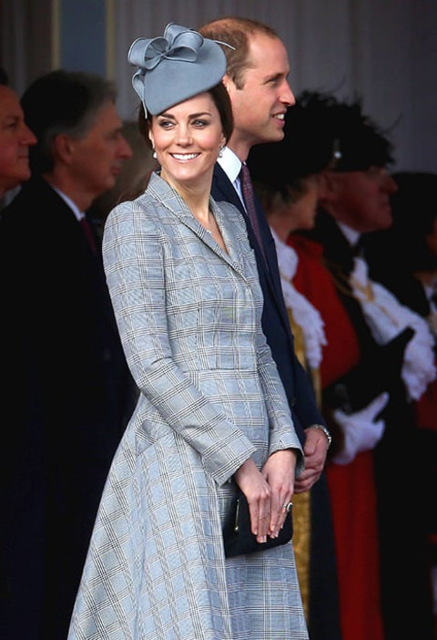 Kate Middleton back