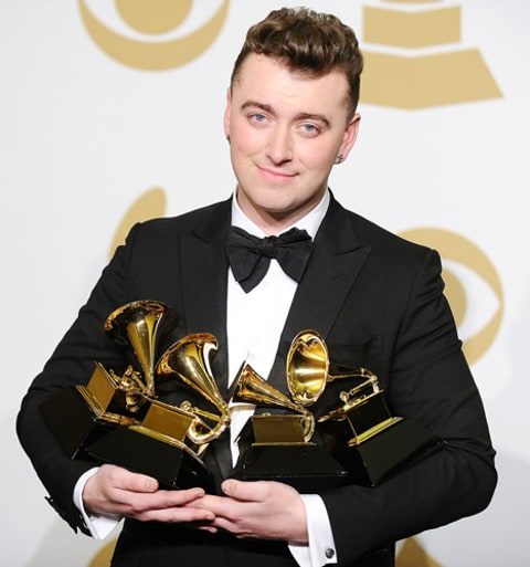 sam smith 4 grammys