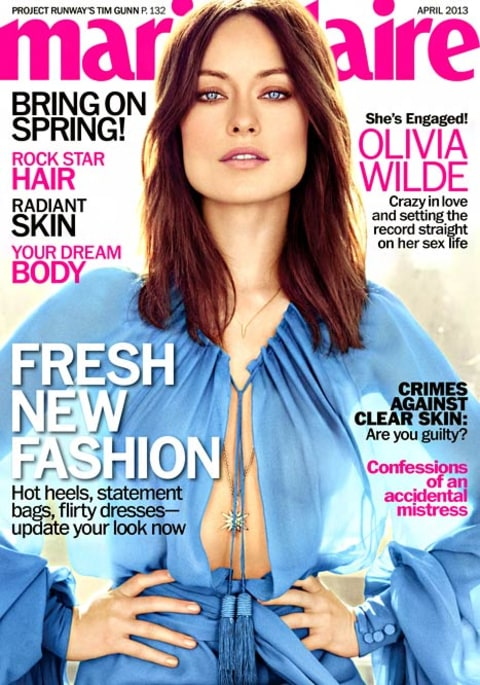 olivia wilde marie claire cover