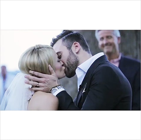 emily maynard and tyler johnson wedding video still