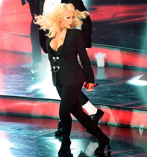 Christina Aguilera's NBA All-Star performance