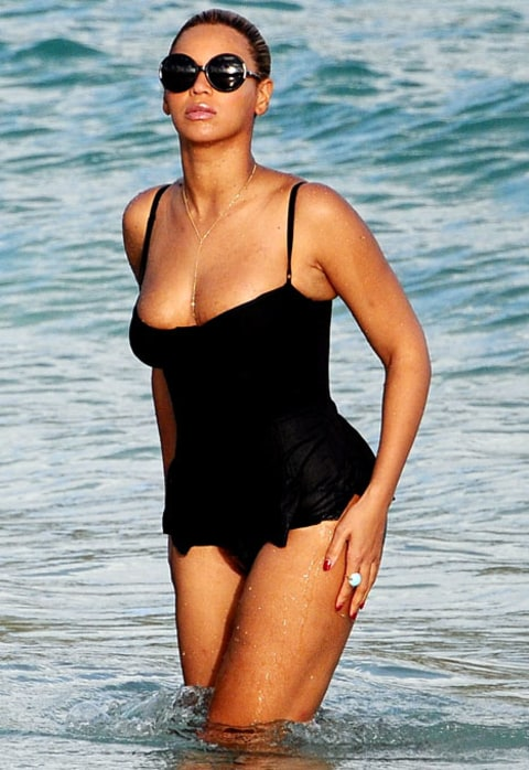 beyonce bathing suit