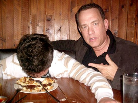 Tom Hanks fan photo