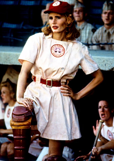 Geena Davis, 57, Wears A League of Their Own Uniform - Us ...