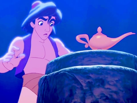 Aladdin in Disney Cut