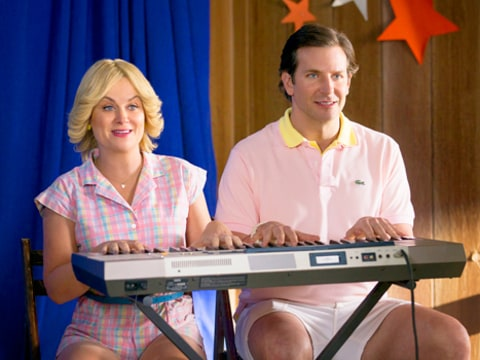 Amy Poehler and Bradley Cooper in Wet Hot American Summer: First Day of Camp