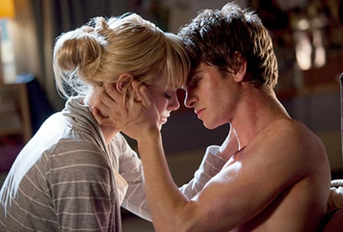 Emma Stone and Andrew Garfield Spiderman