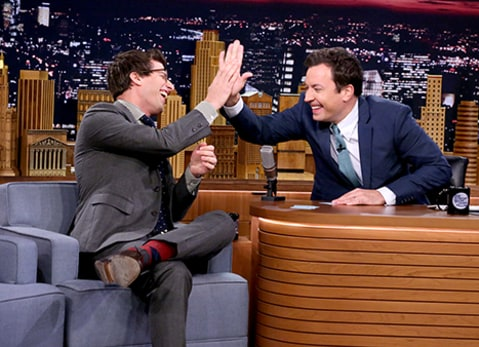 Andy Samberg on Jimmy Fallon