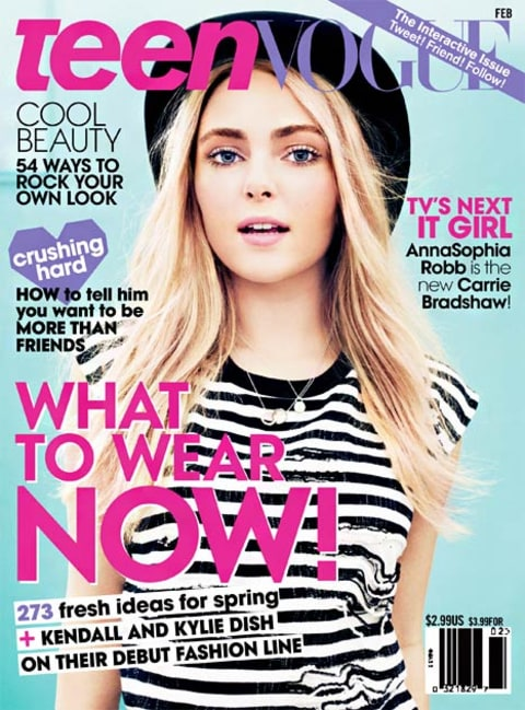 AnnaSophia Robb teen vogue cover