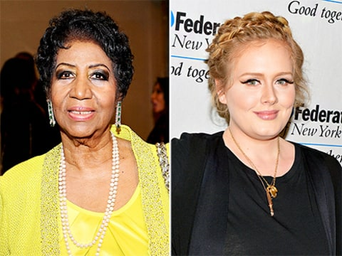 Aretha Franklin and Adele