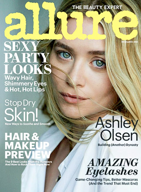 Ashley Olsen Allure Cover