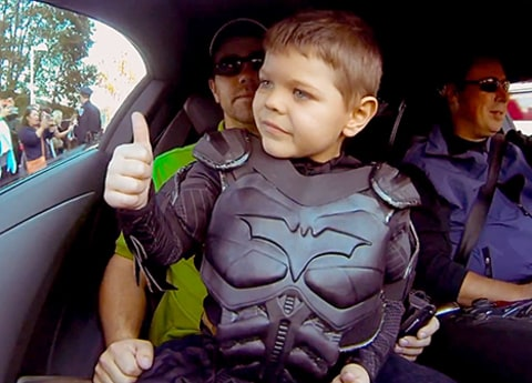 batkid thumbs up