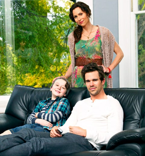 Benjamin Stockham, Minnie Driver and David Walton