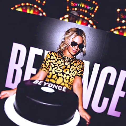 Beyonce Album Release Cake