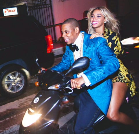 Beyonce and Jay Z NYE