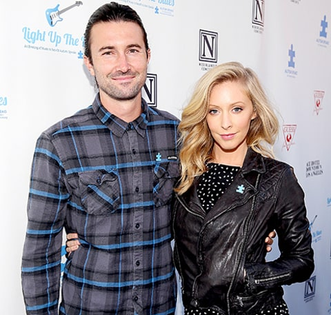 Leah Jenner and Brandon Jenner