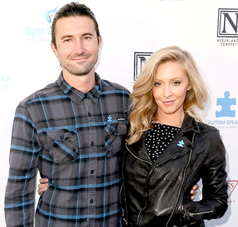 Leah and Brandon Jenner