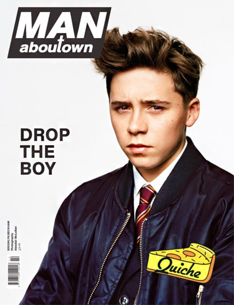 Brooklyn Beckham Man About Town Cover