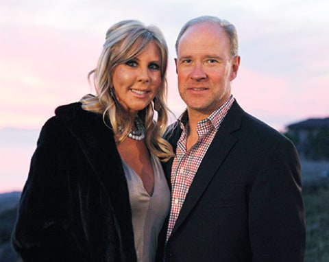Brooks Ayers Vicki Gunvalson together