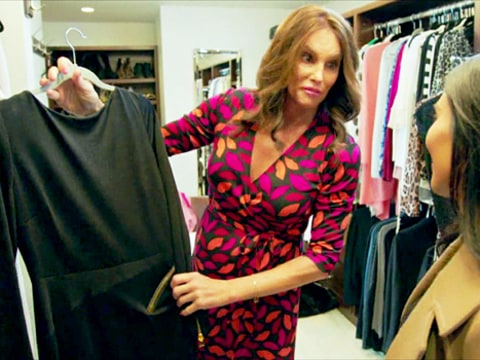 Caitlyn Jenner and Kim Kardashian in I am Cait Promo