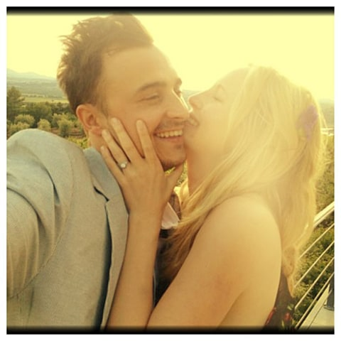 Candice Accola and joseph king