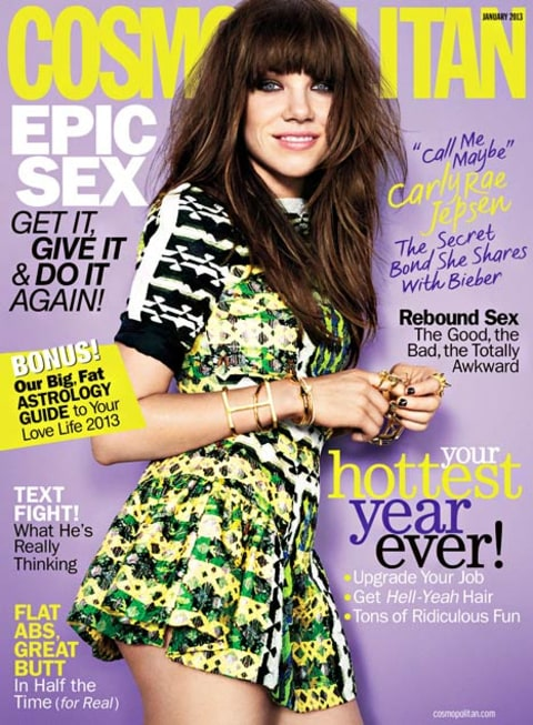 carly rae jepsen cosmo cover