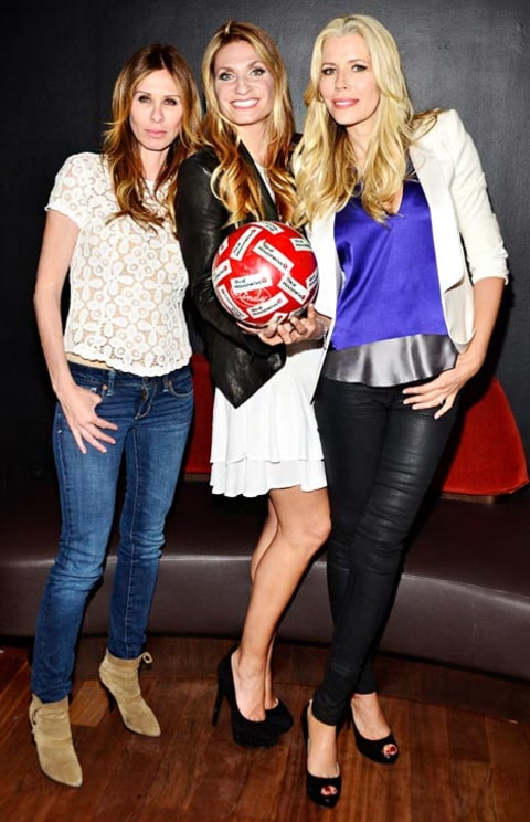 Carole Radziwill, Heather Thomson and Aviva Drescher