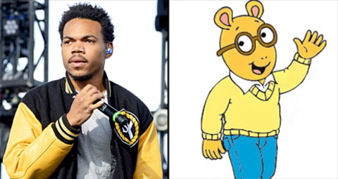 Chance the Rapper and Arthur