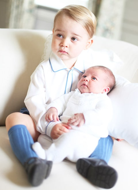 Charlotte and Prince George