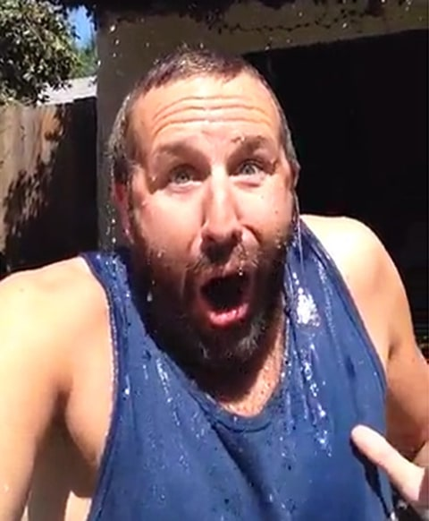 Chris ODowd ALS Ice Bucket video