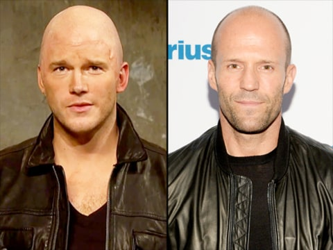 Does spot on impersonation of jason statham on snl video us weekly