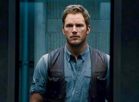 Jurassic World - Chris Pratt elevator